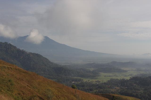 Panorama Gunung Marapi