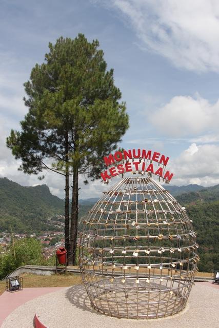 Monumen Kesetiaan ala Sawahlunto, bagi yang gag setia kurungin aja di dalam monumen